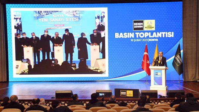 Laying the foundation of the new industrial site is a milestone for Konya