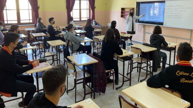 Face to face education will begin in March according to the epidemic conditions of the provinces