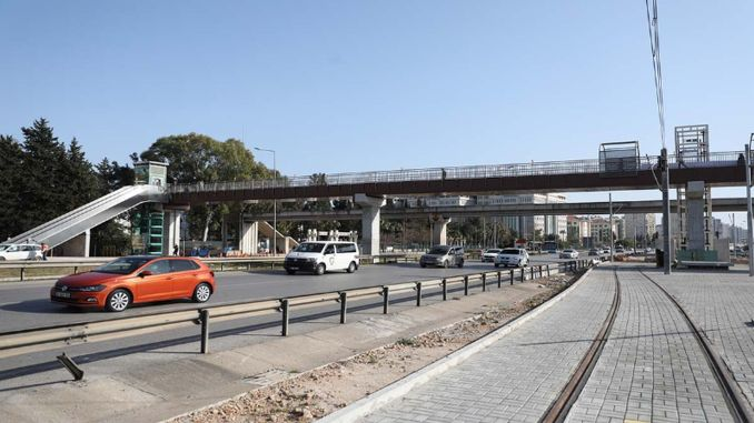 Two modern overpasses have been completed in the stage rail system project