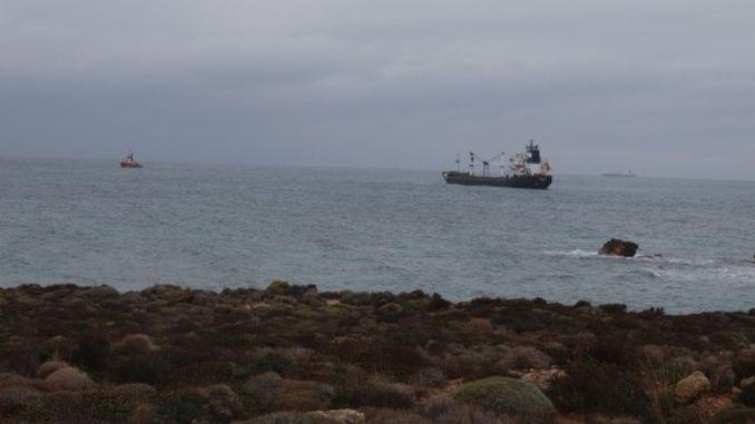 Panama Bandirali Yuk Ship Lays Ashore in Bozcaada Openings