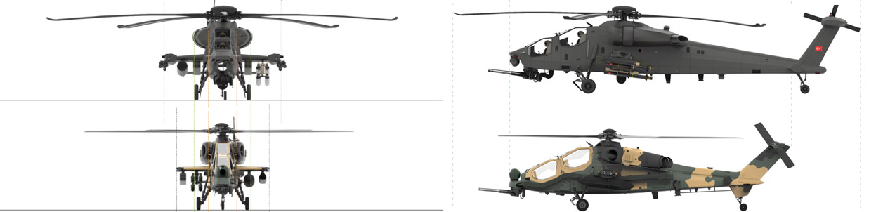T Atak vs Agir Tarruz Helicopter