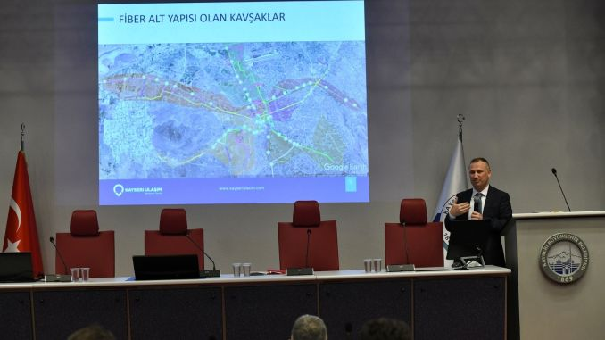 Comprehensive presentation for smart city kayseri project