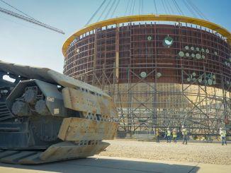 Der Bau des Kernkraftwerks Akkuyu begann.