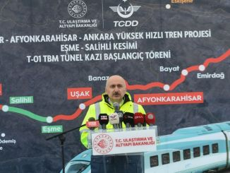 ankara Izmir in Turkey in the first high-speed rail line