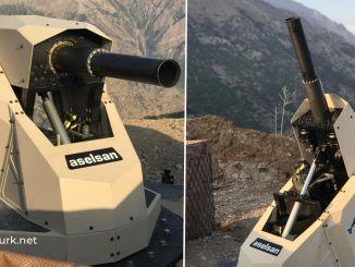aselsan alkar mm Mörserwaffensystem