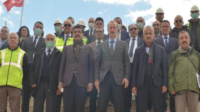 aydin denizli highway works continue at full speed