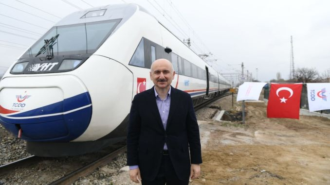 Minister Karaismailoglu Kirikkalesi High Speed ​​Train Tunnel Construction Investigation