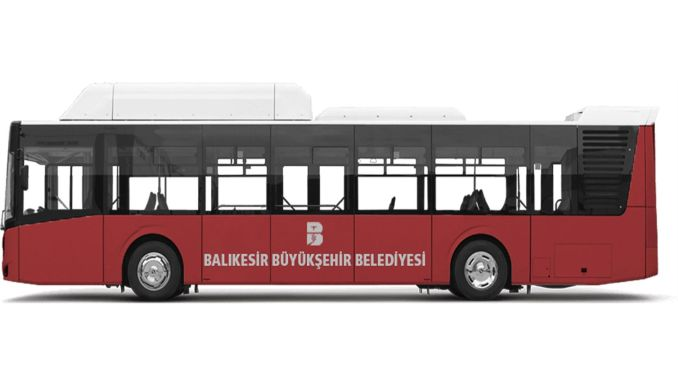 Balikesir switches to clean energy in public transport