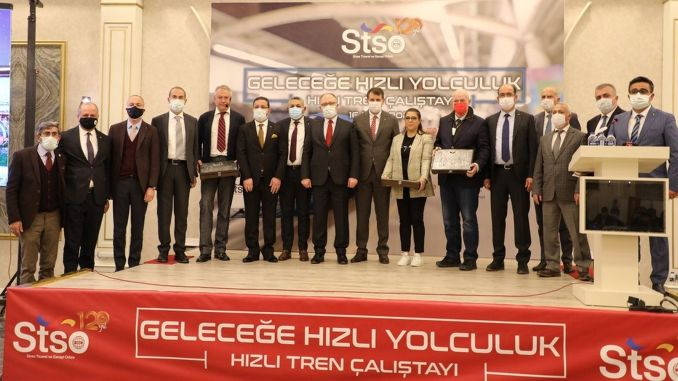 President Eken thanked the academicians who contributed to the fast train workshop.