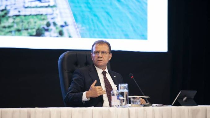 The clear attitude of the President of the Turkish Republic about Mersin Port is no