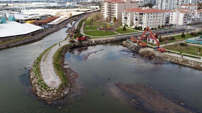 Big cigli creek coastal landscaping project started