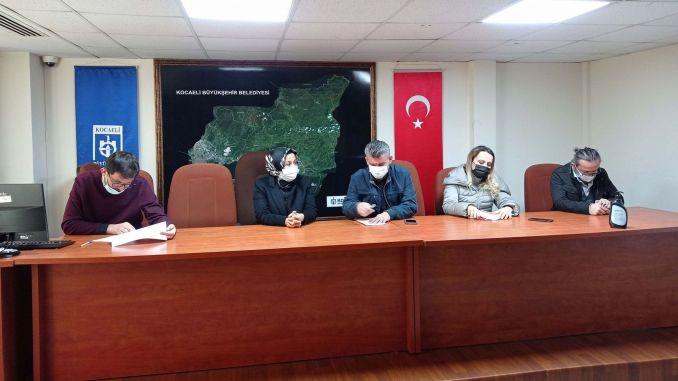 Cayirova and darica road maintenance, repair and construction tender was held.