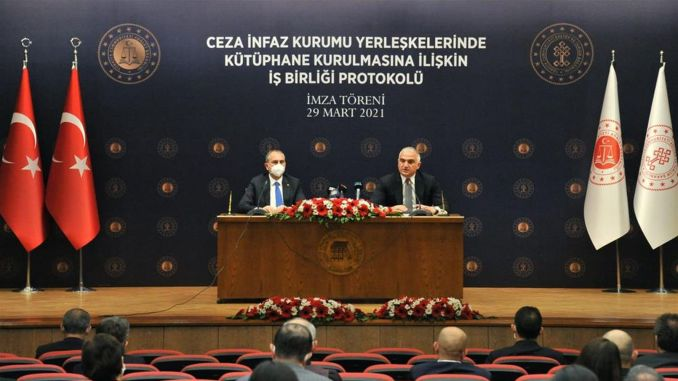 Two ministries will cooperate to establish libraries in prisons