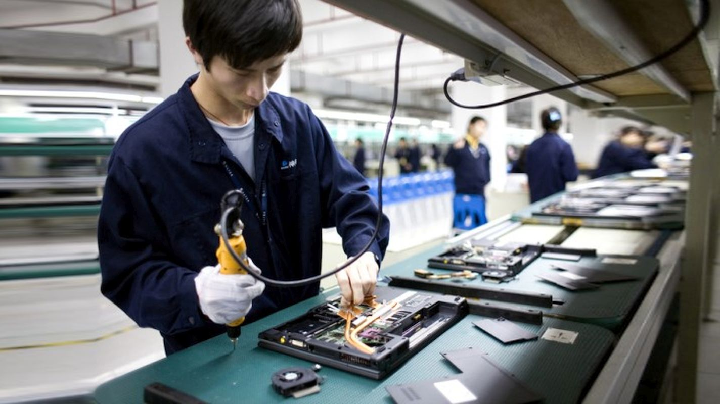 Çin 4.8 Trilyon dollarla dünyanın ən böyük istehsalçı ölkəsidir