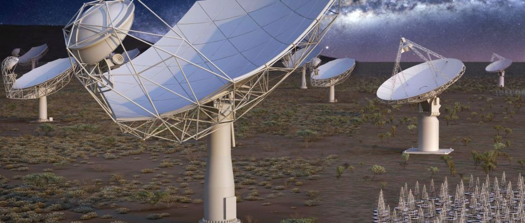 The largest telescope in the world will begin the construction of the scan in July