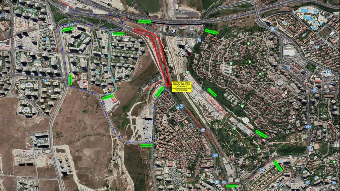 Solution from ibb to traffic density in ispartakule