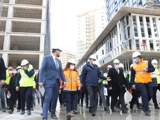 Istanbul financial center will come to life in the year