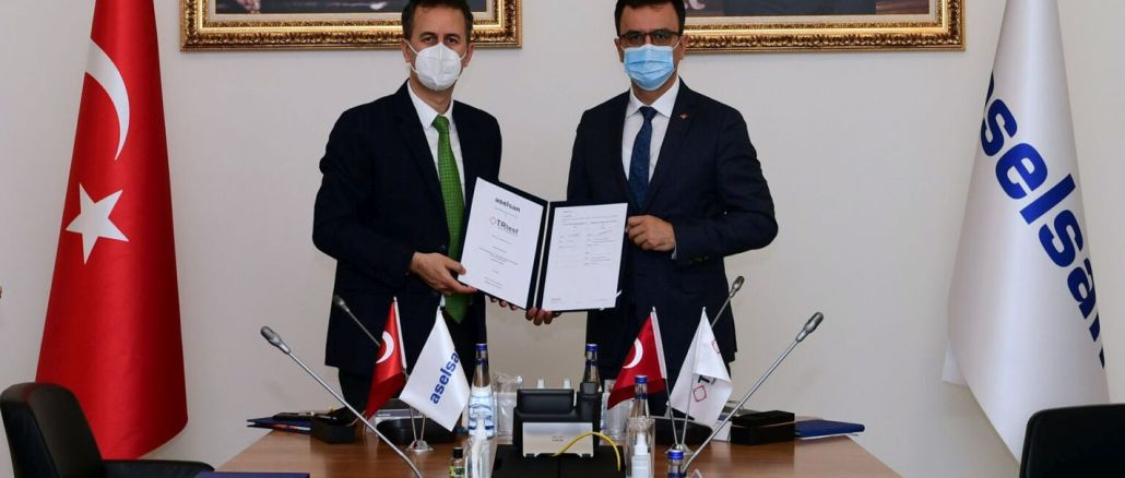 Cooperation between aselsan and trtest on the road to nationalization