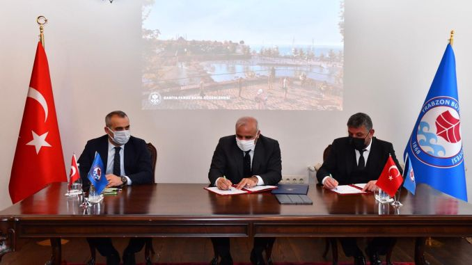Signatures Signed for the Ganita-Faroz Project, which will reconcile the people of Trabzon with the Sea