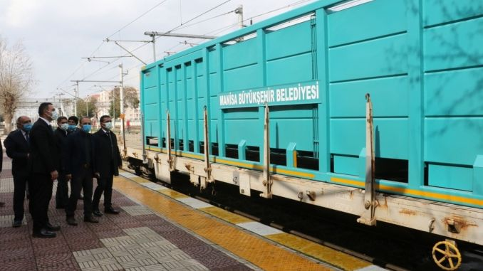 The project of transporting household waste by train was explained to the municipalities