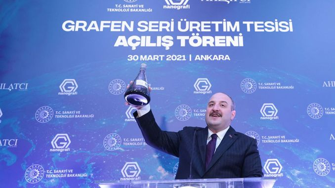 turkey graphene series came to one of the countries capable of manufacturing location