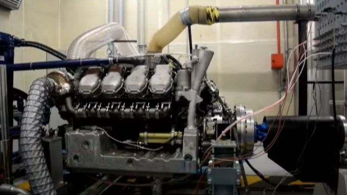 Utku Power Group has started engine tests developed for light armored vehicles.