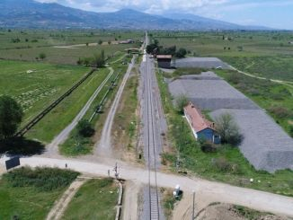 キリックの家庭ごみの駅建設工事が始まった