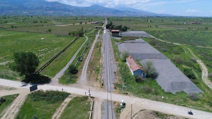 Die Bauarbeiten für den Bahnhof für feste Haushaltsabfälle in Killik haben begonnen
