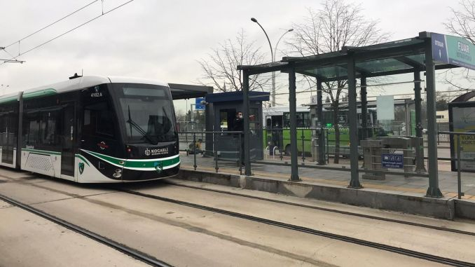 Akcaray tram service froze to normal