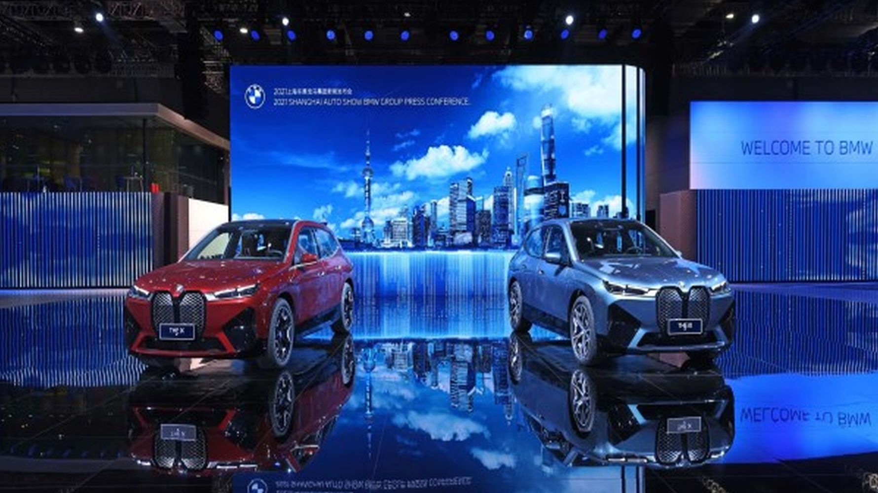 German automotive manufacturers took off at shanghai auto show