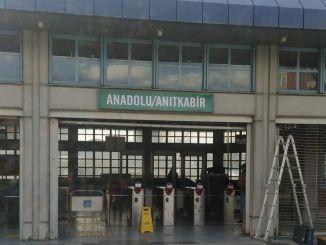 تم تغيير اسم محطة الأناضول Ankaray إلى anitkabir الأناضول