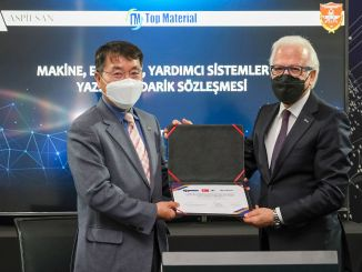 aspilsan signed the final signature for domestic li-ion battery production