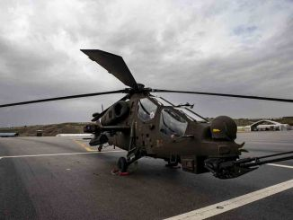 Attack helicopter added to the inventory of the Turkish police force