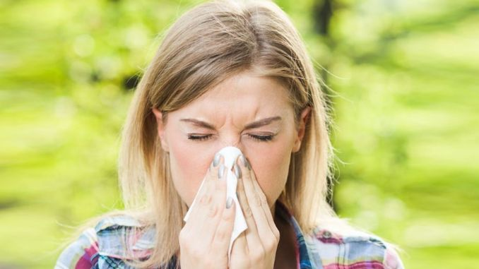 spring allergy can cause nasal congestion