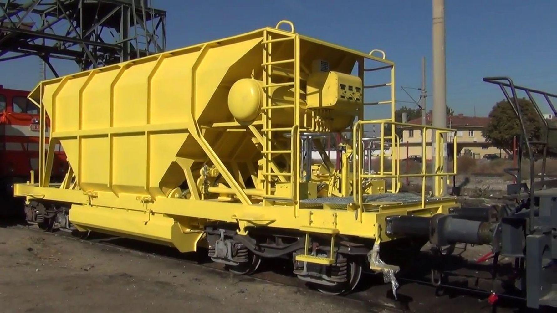 ballast wagons