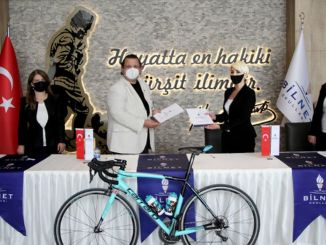 bilnet schools bodrum halikarnas granfondo became the main sponsor of the international bicycle road race
