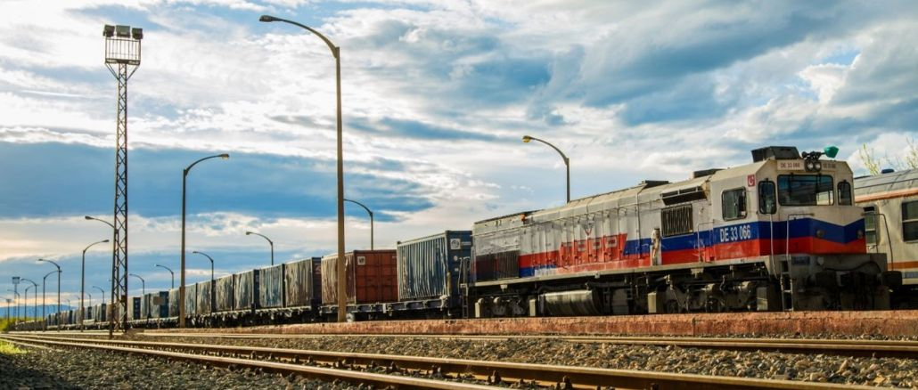 Freight transport on btk railway line is increasing exponentially