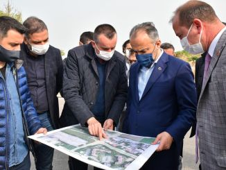 bursa doganevler intersection, additional arm work will breathe the traffic