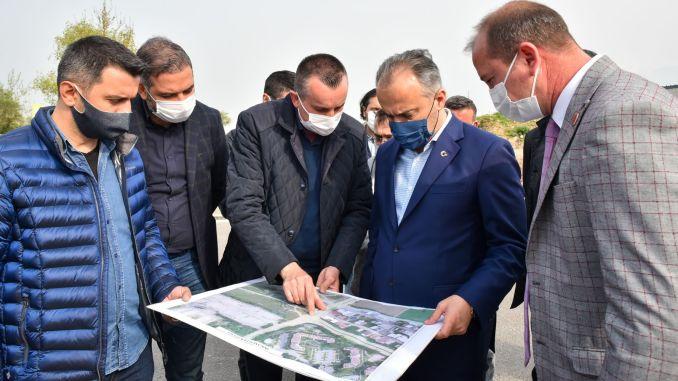 bursa doganevler intersection, additional arm work will breathe the traffic