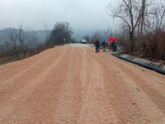 road transportation opened in the district of bursa inegol