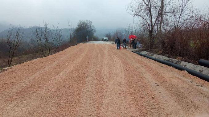 Straßentransport im Bezirk Bursa Inegol eröffnet