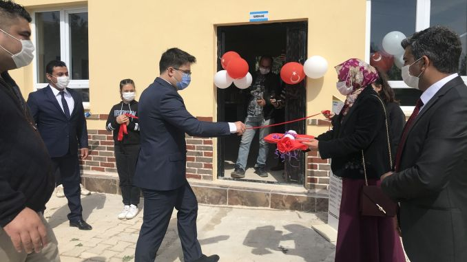 The cafeteria was opened with the support of Akkuyu Nucleer Ace