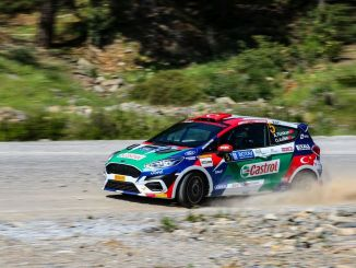 El equipo Castrol-Ford está listo para el campeonato de rally de turquía
