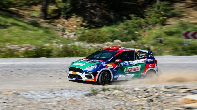 Castrol-Ford team is ready to turkey turkey rally championship