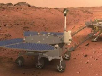 genie named the first mars traveler zhurong