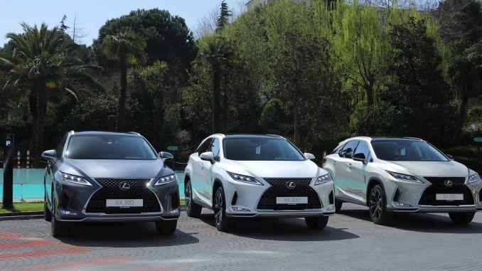 world's first premium SUV Lexus RX enterprise turkey in the fleet