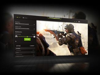 Applications can be optimized with geforce experience updates