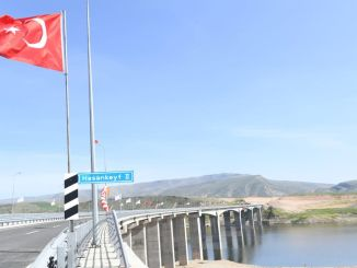 Hasankeyf Bridge opened for service with toren