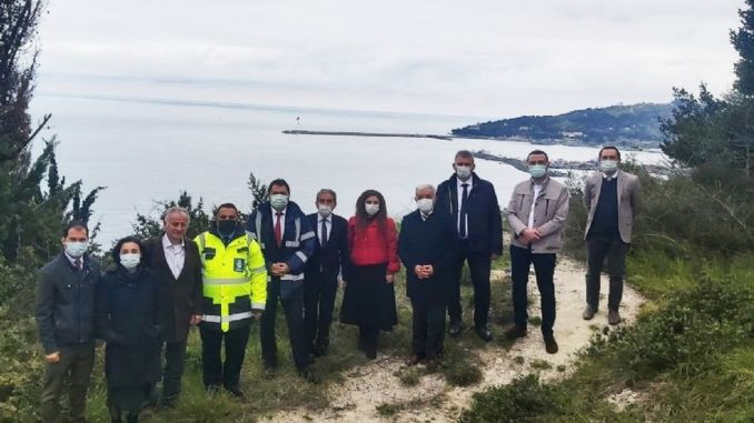 ibb delegation came to eregliye for goztepe cable car project