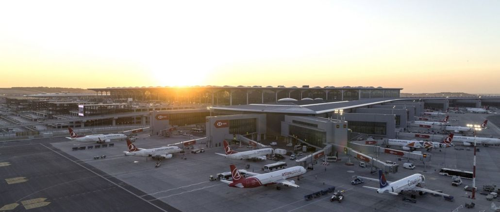 Istanbul airport served passengers in March